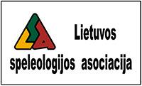 Lietuvos speleologijos asociojacijos logotipas