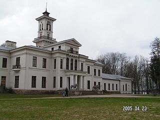Astravo rūmų šiaurinė pusė