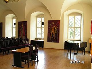 Biržų tvirtovės rūmų salė