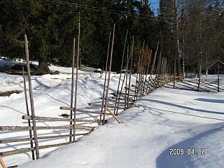 Miško suomiai tverdavo tik tokias tvoras