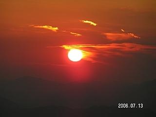 Saulėlydis Dalmatijoje